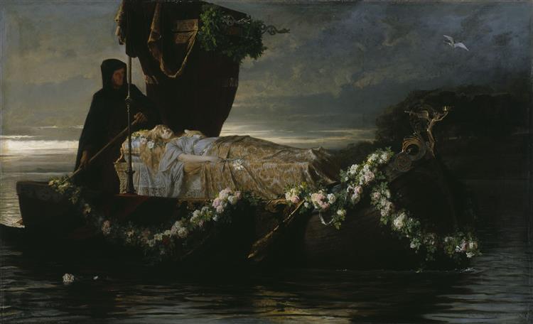 Elaine, 1874 - Toby Edward Rosenthal