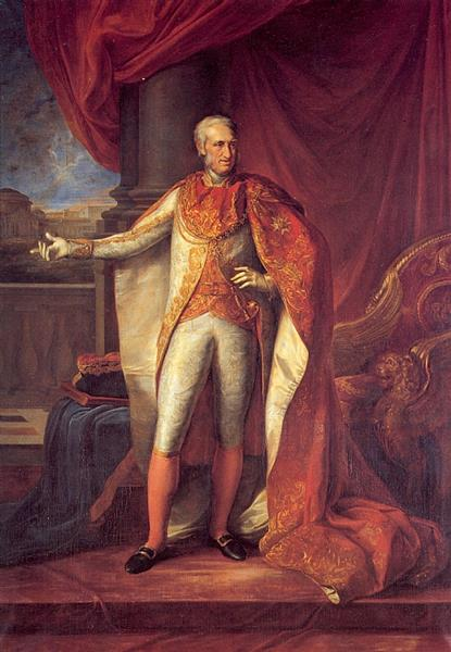 Portrait of Ferdinand I of the Two Sicilies - Vincenzo Camuccini