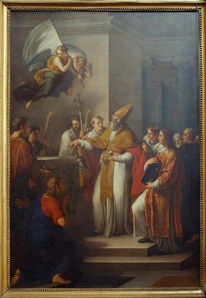 Sant'orso Consacra La Cattedrale Di Ravenna - Vincenzo Camuccini