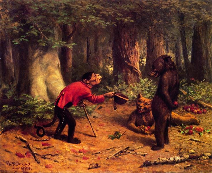Begging for Apples, 1898 - William Holbrook Beard