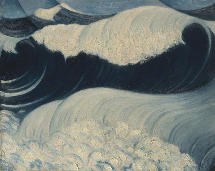 The Wave, 1917 - C. R. W. Nevinson