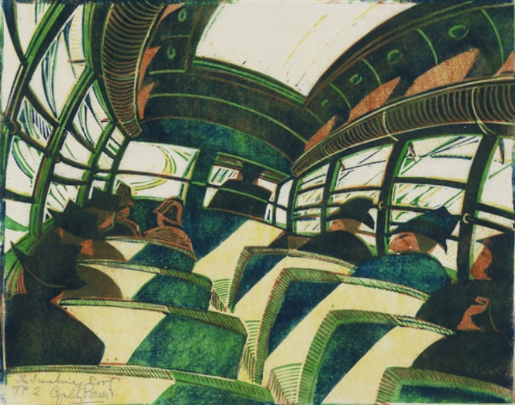 The sunshine roof, 1934 - Cyril Power