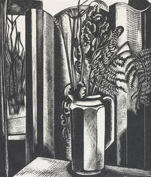Still Life II, 1927 - Paul Nash