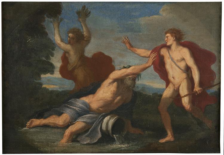 Apollon Och Dafne - Placido Costanzi