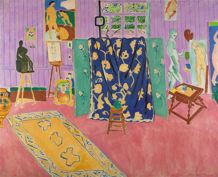 The Pink Studio, 1911 - Henri Matisse