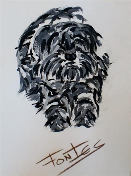 Uma Cadela XII, 2012 - Paulo Fontes