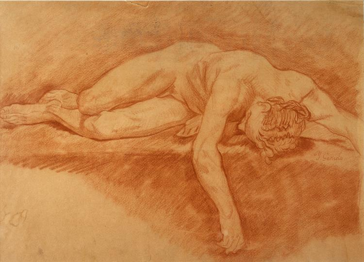 Desnudo - José Garnelo