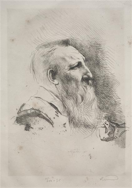 Auguste Rodin, 1922 - Paul-Albert Besnard