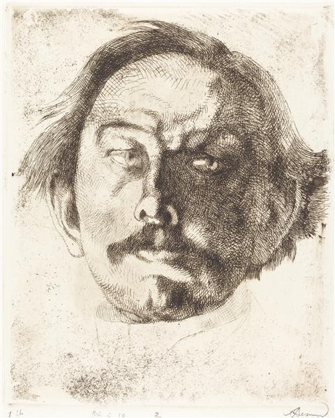 Jules Destrée, 1917 - Paul-Albert Besnard