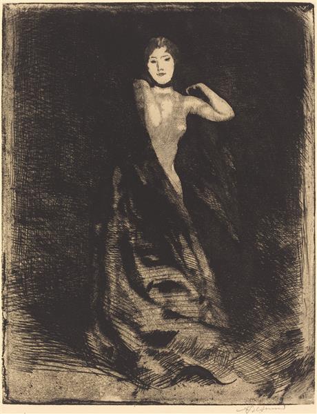 La Femme, 1886 - Paul-Albert Besnard