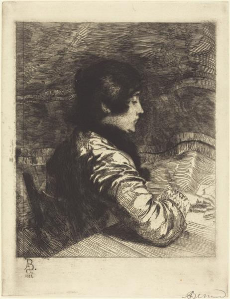 Madame Besnard, 1884 - Paul-Albert Besnard