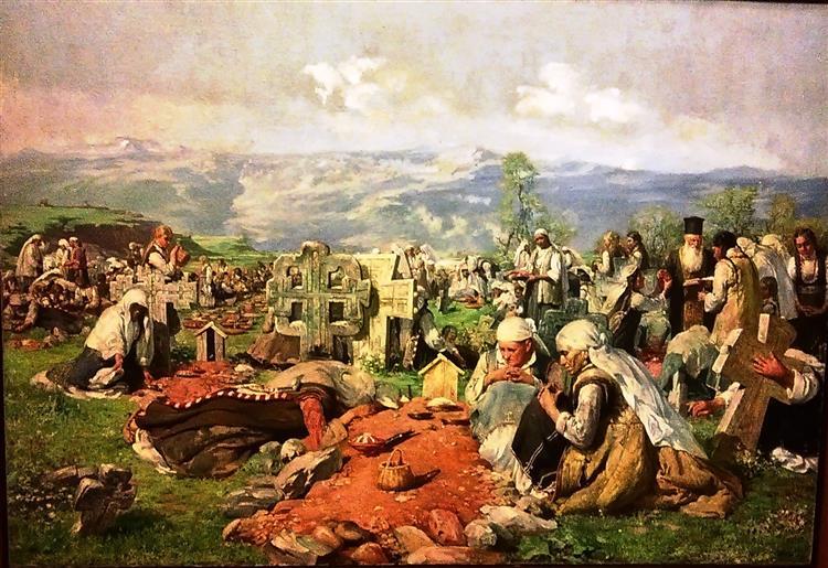 Zaduszki, 1899 - Ivan Mrkvička