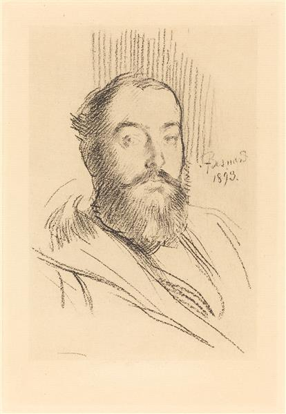 Self-portrait, 1893 - Paul-Albert Besnard