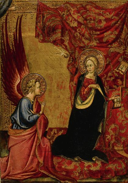 The Annunciation, c.1430 - c.1434 - Álvaro Pires de Évora