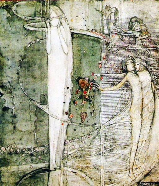 Sleep, 1910 - Frances Macdonald