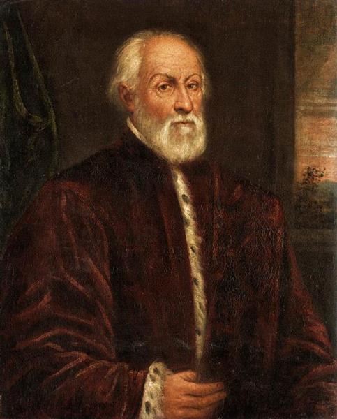 Portrait of a Gentleman - Domenico Tintoretto