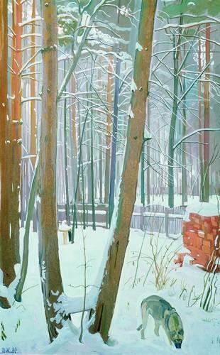 Winter, 1980 - Dmitri Zhilinsky