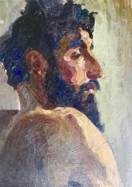 Man's figure - Hélène Guinepied