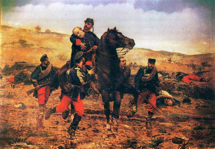 The Death of the Marqués del Duero, c.1884 - Joaquín Agrasot