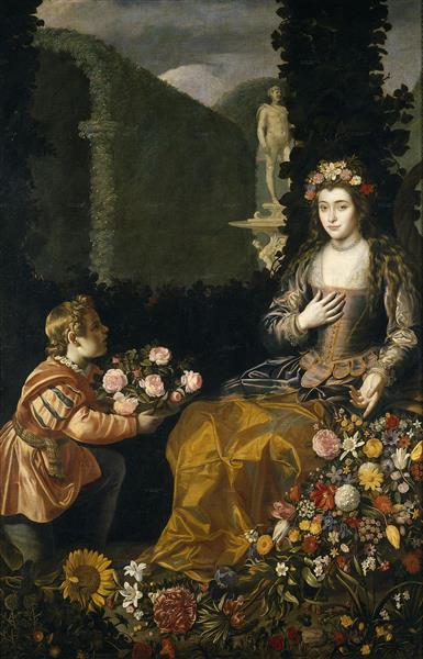 Offering to Flora, 1627 - Juan van der Hamen
