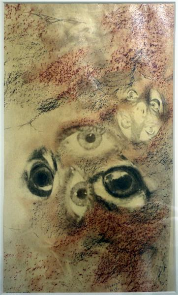 The Eyes, 1936 - Jindřich Štyrský