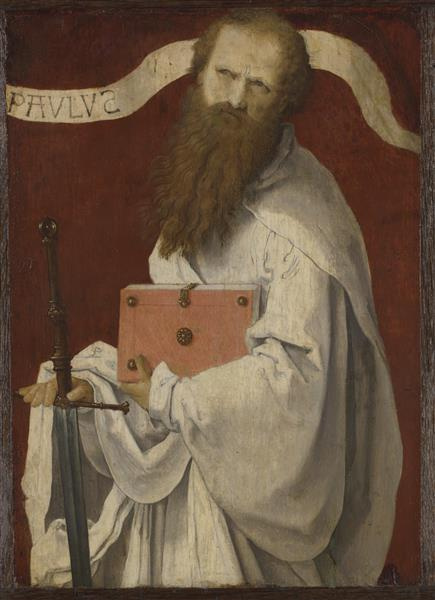 Saint Paul, 1520 - Lucas van Leyden
