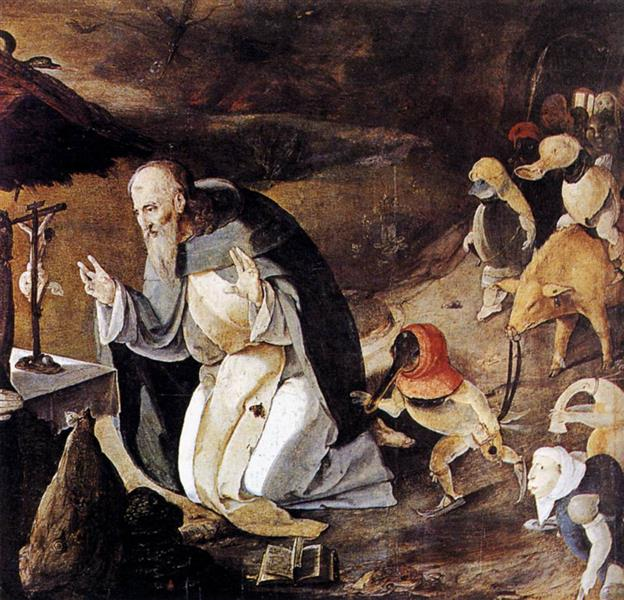 The Temptation of St Anthony, c.1530 - Lucas van Leyden