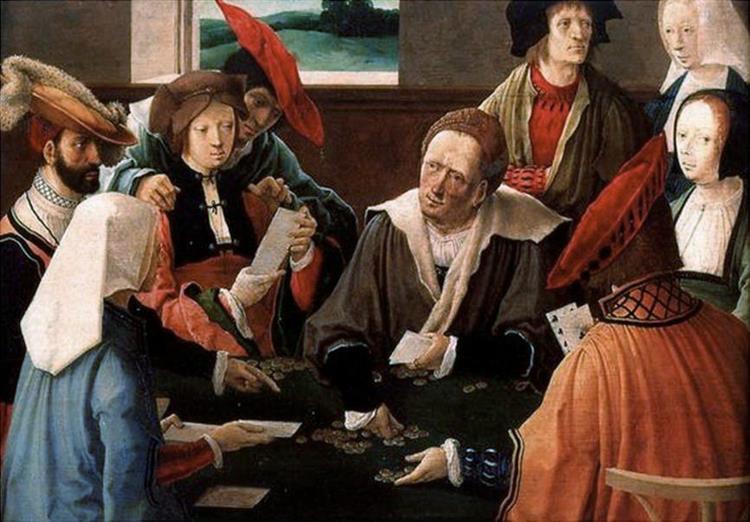 The Card Players, c.1517 - Lucas van Leyden