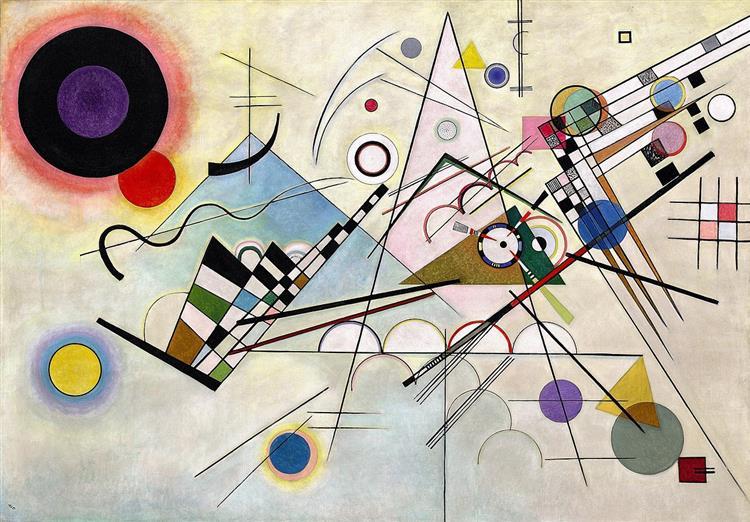 Composition 8, 1923 - Wassily Kandinsky