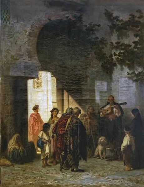 La Porta Di Toledo, 1869 - Achille Zo
