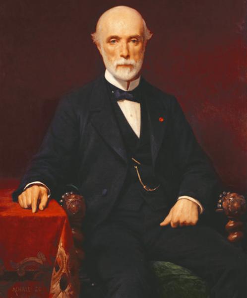 Louis Charles De Saulces De Freycinet, 1880 - Achille Zo