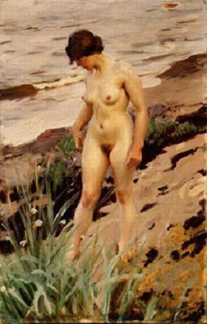 Nude by the Shore, 1914 - Anders Zorn