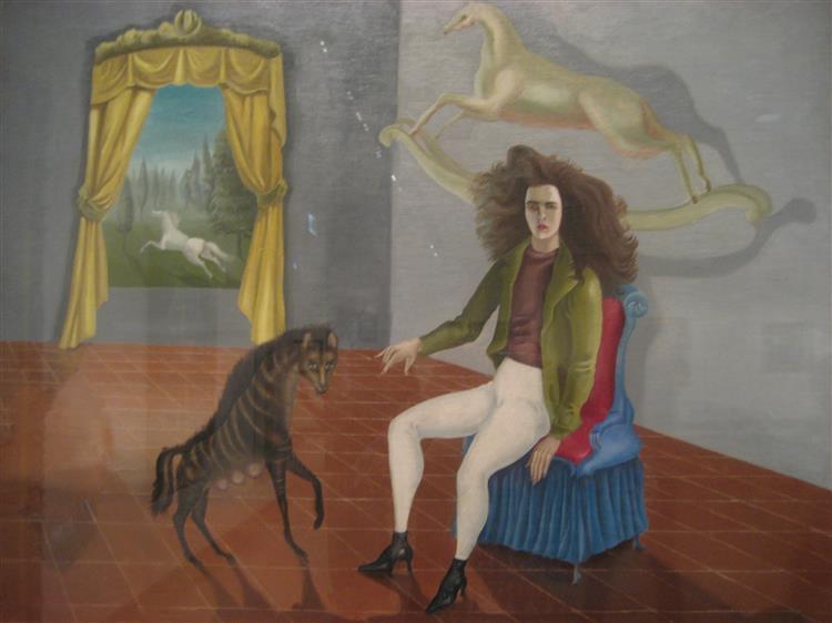 Self-Portrait (Inn of the Dawn Horse), 1937 - 1938 - Leonora Carrington