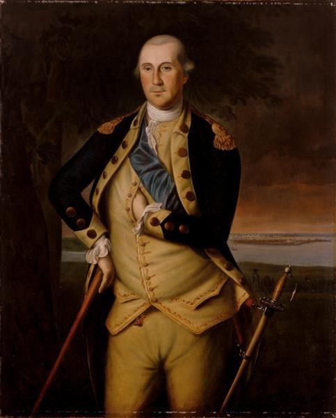 George Washington, c.1776 - Charles Willson Peale