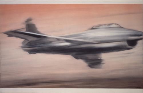 Jet Fighter, 1963 - Gerhard Richter
