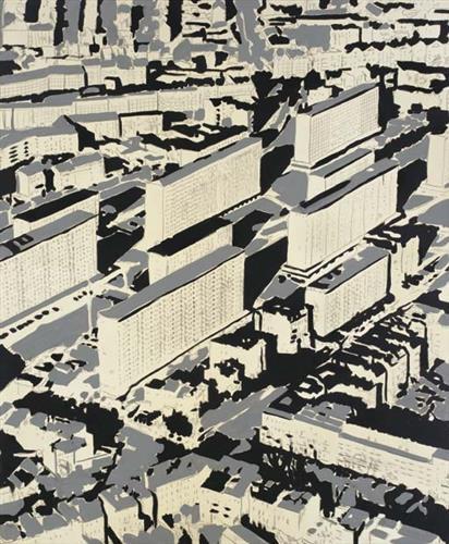 Townscape Ha, 1968 - Gerhard Richter