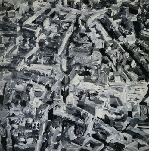 Townscape F, 1968 - Gerhard Richter