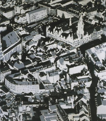 Townscape Mü, 1968 - Gerhard Richter