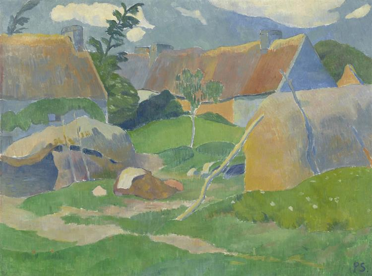 Farm in Brittany, 1890 - Paul Serusier