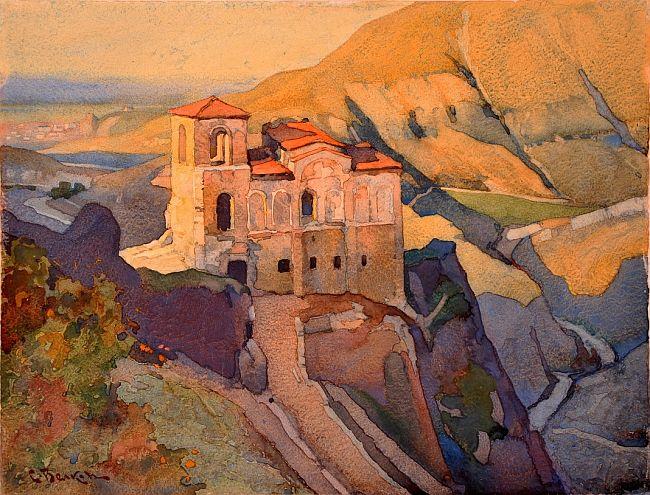 Asen's Fortress, c.1935 - Simeon Velkov
