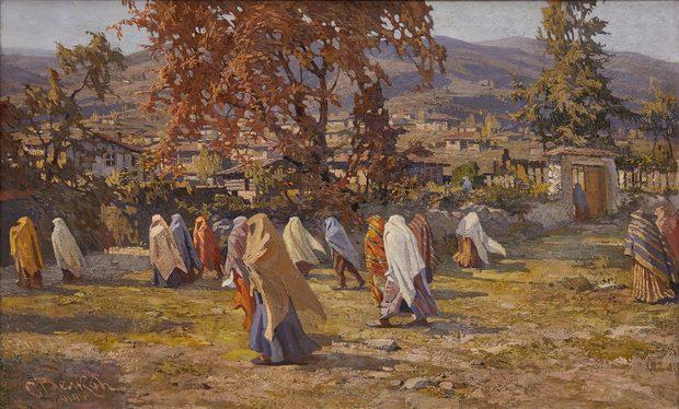Pomak women, 1914 - Simeon Velkov