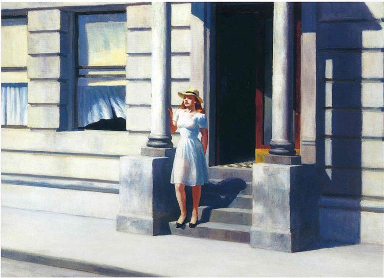 Summertime, 1943 - Edward Hopper