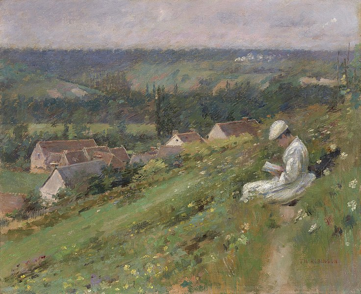 The Valley of Arconville, c.1887 - Theodore Robinson