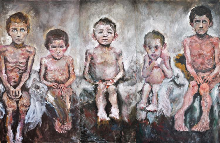 The Five Children, 2009 - Carmen Delaco