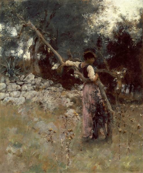 A Capriote, 1878 - John Singer Sargent