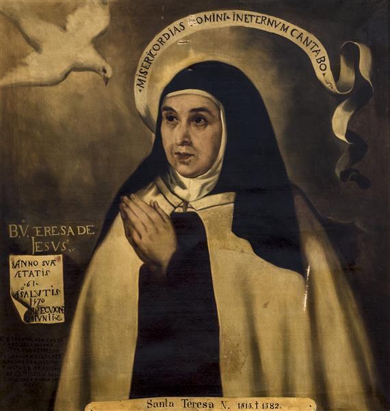 Santa Teresa De Jesús - Alfred Dehodencq