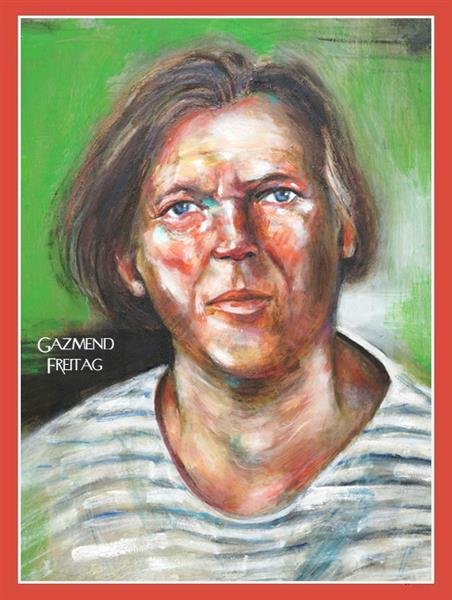 Gazmend Freitag - Self-Portrait, c.2020 - Gazmend Freitag