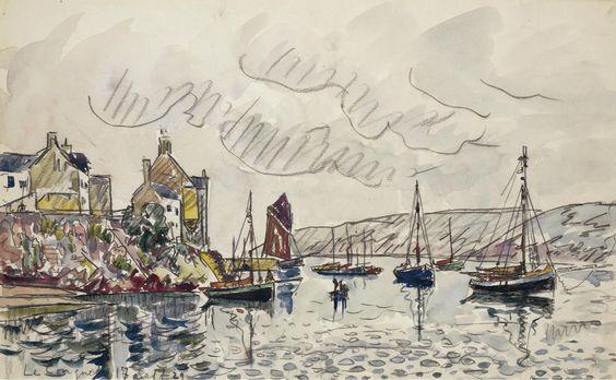 Le Conquet, 1929 - Поль Синьяк