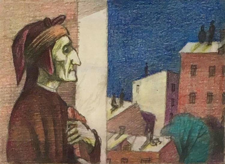 All Night We Stood on the Roofs ... From the Album 'Florence', 2010 - Пивоваров Виктор Дмитриевич