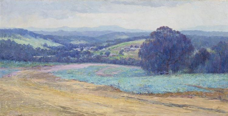The Road to Warrandyte, c.1910 - Clara Southern